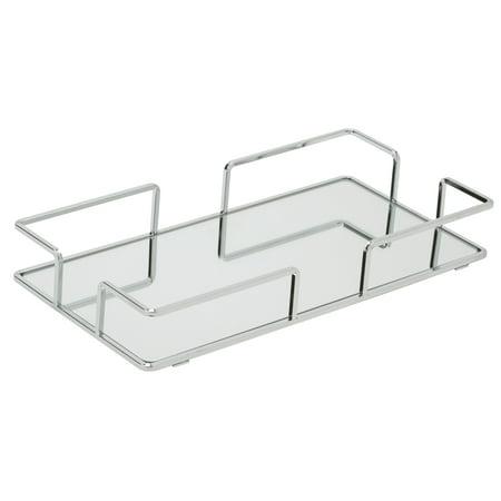 Modern Rectangular Vanity Mirror Tray