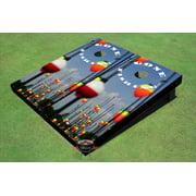 Gone Fishing #2 Cornhole Boards