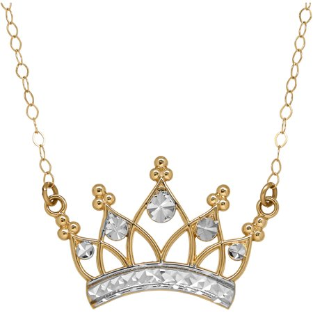 10kt Gold Crown Necklace](Daryl Dixon Necklace)