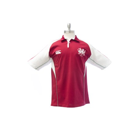 Ccc Canterbury Of New Zealand Mens Wales Polo