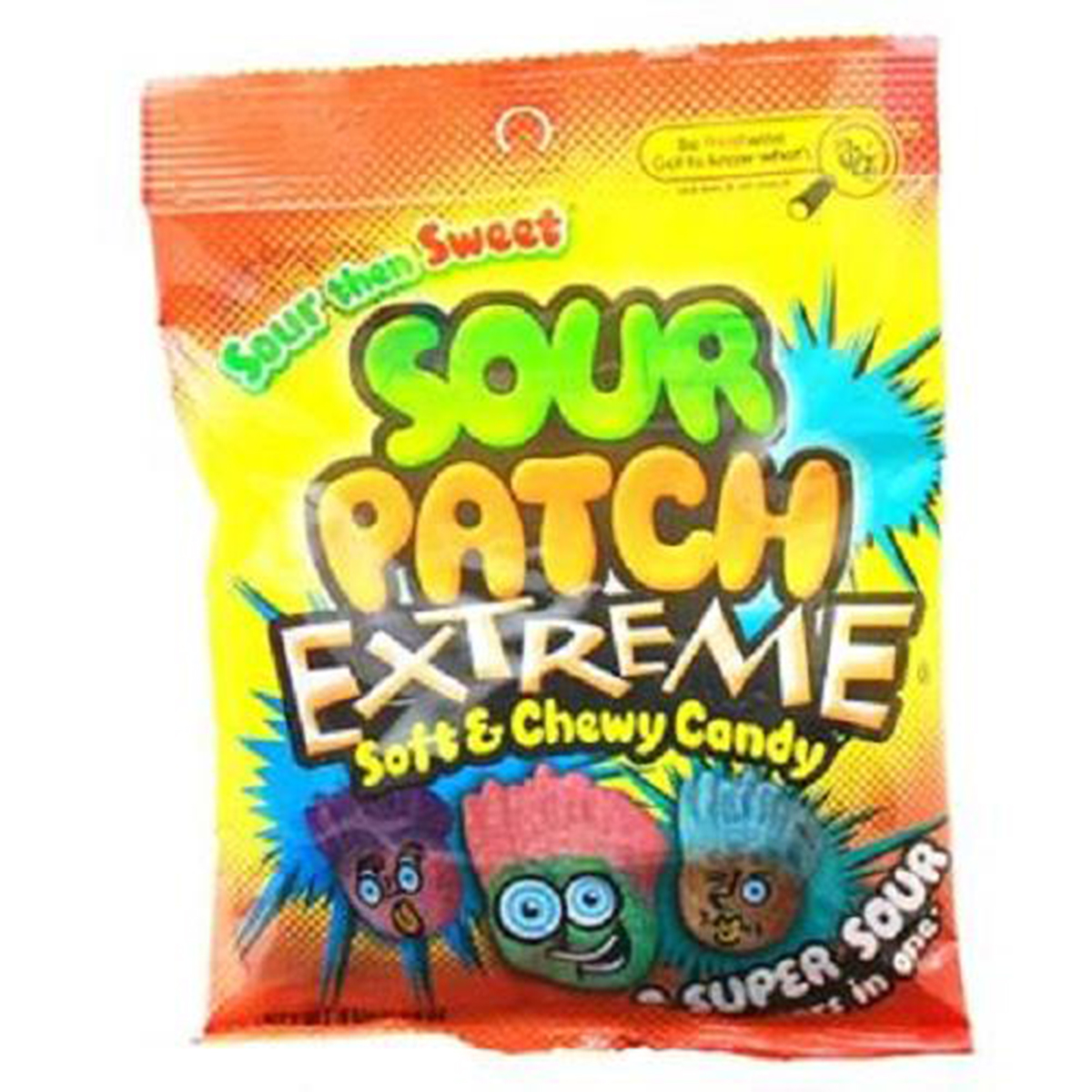 Product Of Sour Patch, Extreme Soft & Chewy, Count 12 (4 oz) - Sugar Candy / Grab Varieties & Flavors