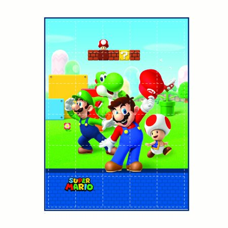 Super Mario Kids Weighted Blanket, Super Soft Plush Bedding, 36u0022 x 48? 4.5lbs, Blue