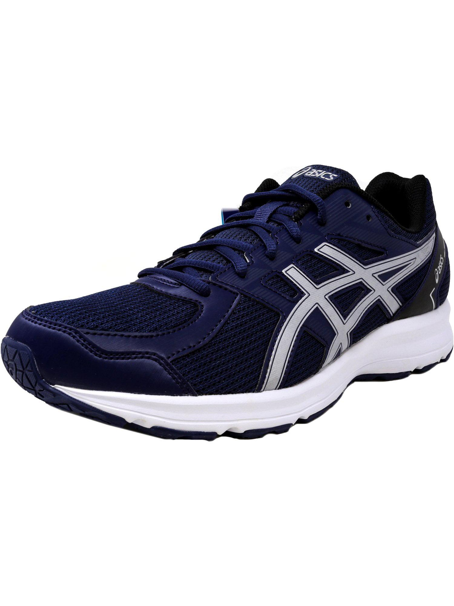 Asics Men's Jolt Indigo Blue / Silver Black Ankle-High Running Shoe - 10WW