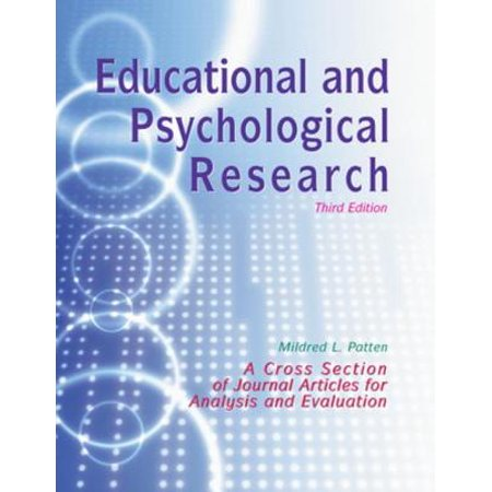 Educational and Psychological Research - eBook