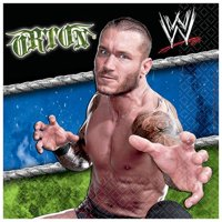 WWE Beverage Napkins 16ct
