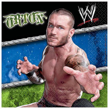 Wwe Themes (WWE Beverage Napkins 16ct)