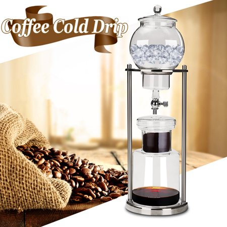 Dutch Coffee Cold Drip Water Drip Brew Coffee Maker Serve For 10cups