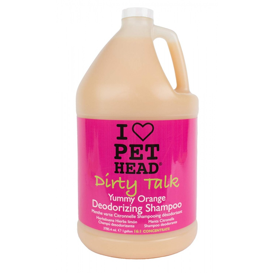 Pet Head Dirty Talk Deodorizing Shampoo - Yummy Orange 1 gallon