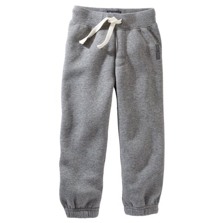 9435c48b5 OshKosh - Carters OshKosh Baby Clothing Outfit Boys Vintage Fleece Pants  Heather Gray - Walmart.com