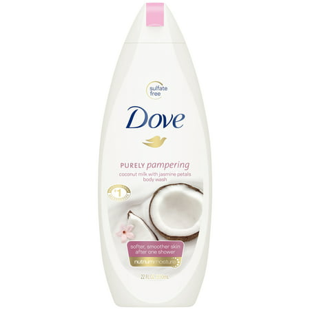 (2 pack) Dove Purely Pampering Coconut Milk with Jasmine Petals Body Wash, 22 -