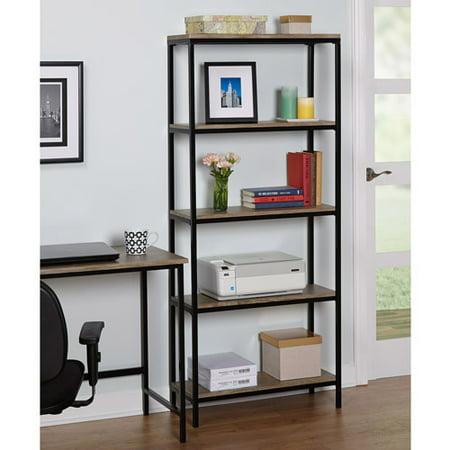 Vie 5Tier Bookcase Walmart – Tier Bookcase