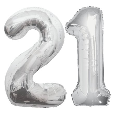 21st Birthday Balloon Bouquet Kit - Party Supplies