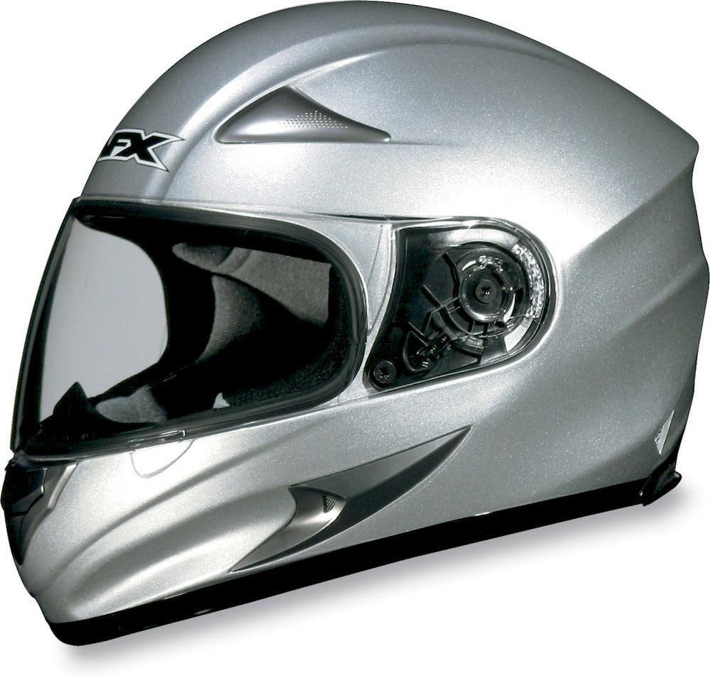 AFX FX-Magnus Big Head Solid Helmet Silver