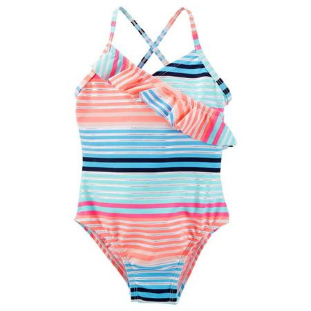 OshKosh Ruffle One-Piece Swimsuit Girls