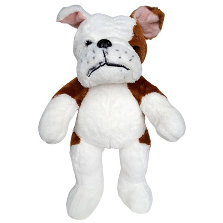 Cuddly Soft 16 inch Stuffed Soft Bulldog - We stuff