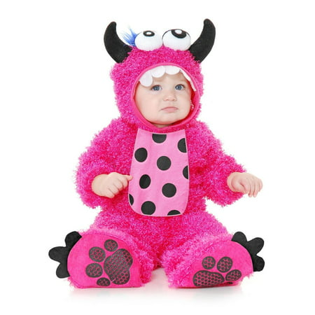 Halloween Little Monster Madness Infant/Toddler Pink