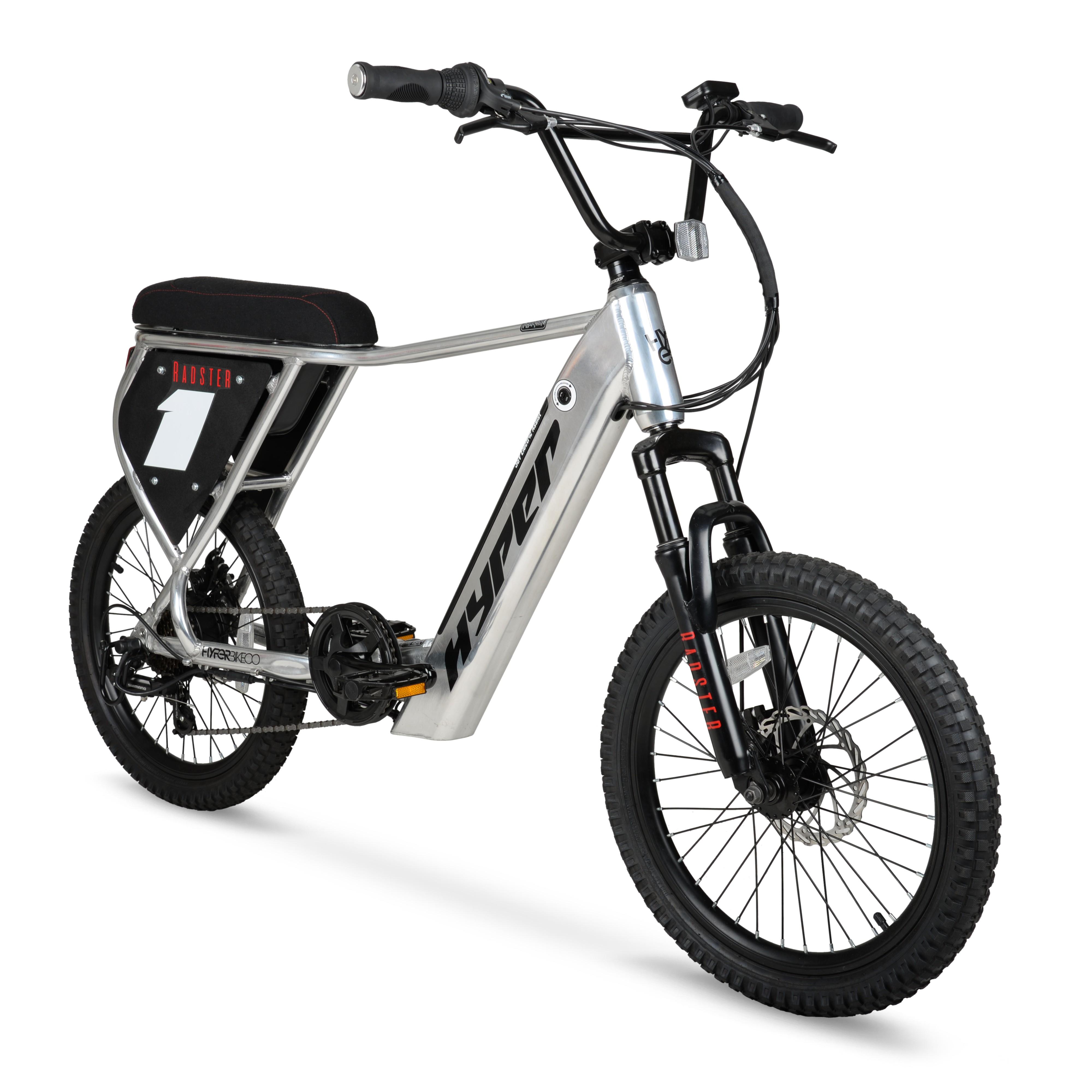 Hyper Bicycles Radster Electric Bike, 20″ Wheels, 36 volt, 20+ Mile Range