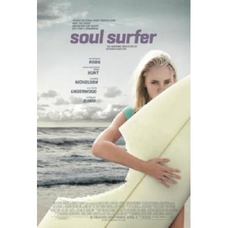 Soul Surfer Movie poster Metal Sign 8inx 12in ()