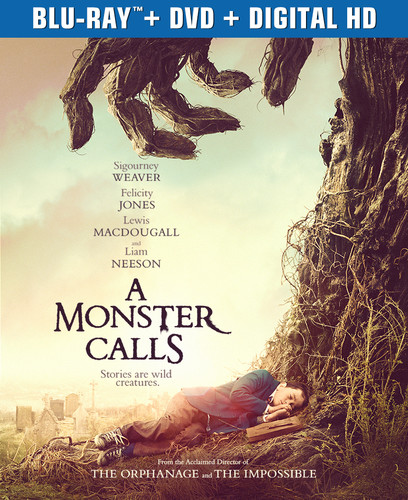 A Monster Calls (Blu-ray + DVD + Digital Copy)