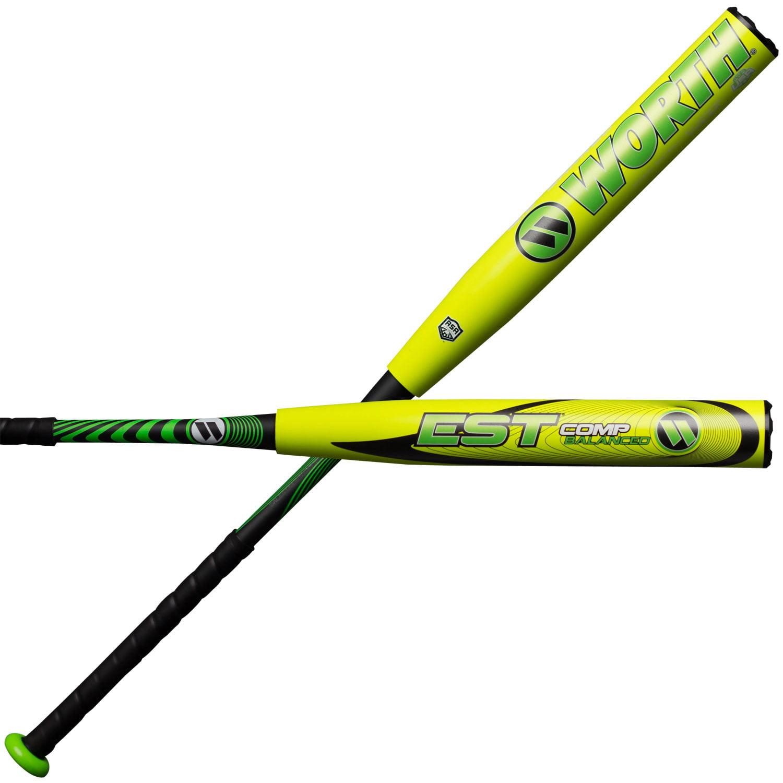 Worth EST COMP Balanced 12.5 Inch ASA WCE12A Slowpitch Softball Bat