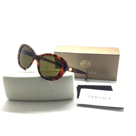672f3beeef154 Versace - Versace Greeek Key Pattern Sunglasses Women 4273 Gold   Brown  5074 73 VE4273 56mm - Walmart.com