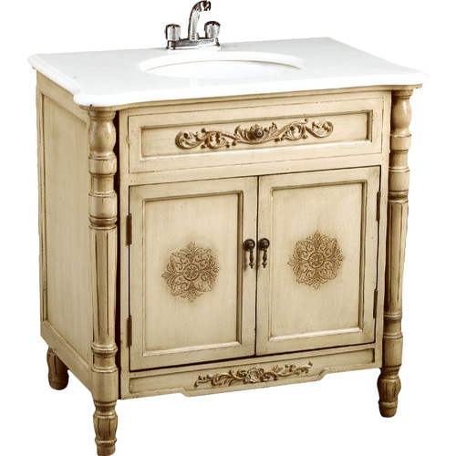 AA Importing 32'' Single Bathroom Vanity Set