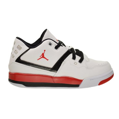 b64bccb8fb9fc9 Jordan - Jordan Flight 23 BP Little Kids Shoes White University Red Black  317822-116 - Walmart.com