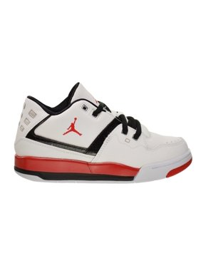 5d39e2524000f8 Jordan Flight 23 BP Little Kids Shoes White University Red Black 317822-116