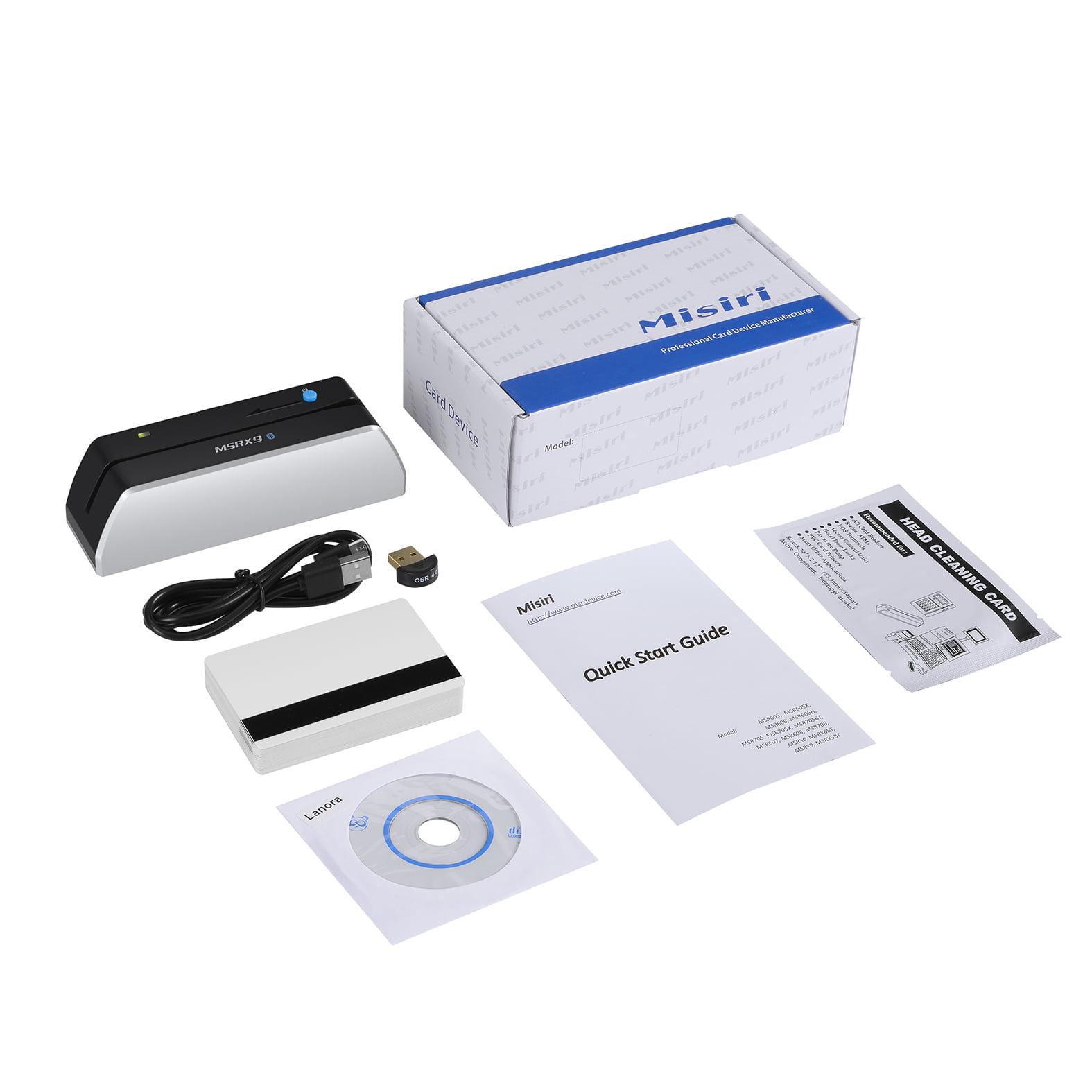 Misiri MSRX9BT Bluetooth HiCo Magstrip Smallest USB Magne...