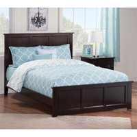 Leo Lacey Full Panel Bed In Espresso