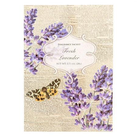 Flora Classique Scented Sachet Packet - Fresh Lavender - .71