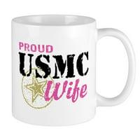 CafePress - Proud USMC Wife Mug - Unique Coffee Mug, Coffee Cup CafePress