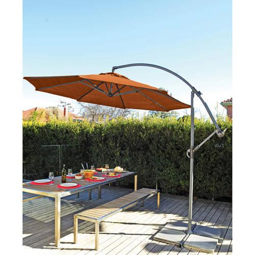 Coolaroo 10 ' Round Aluminum Cantilever Umbrella, Multiple Colors