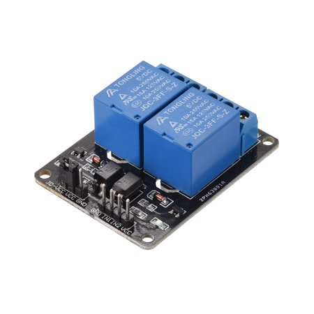 DC 5V Relay Module 2 Channel Low Lever Trigger for Arduino UNO - Kidde Relay Module