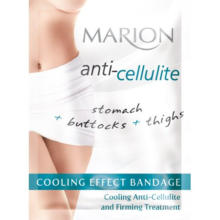 Marion Cellulite Serum Bandage Wrap for Stomach Buttocks and Thighs with Cooling