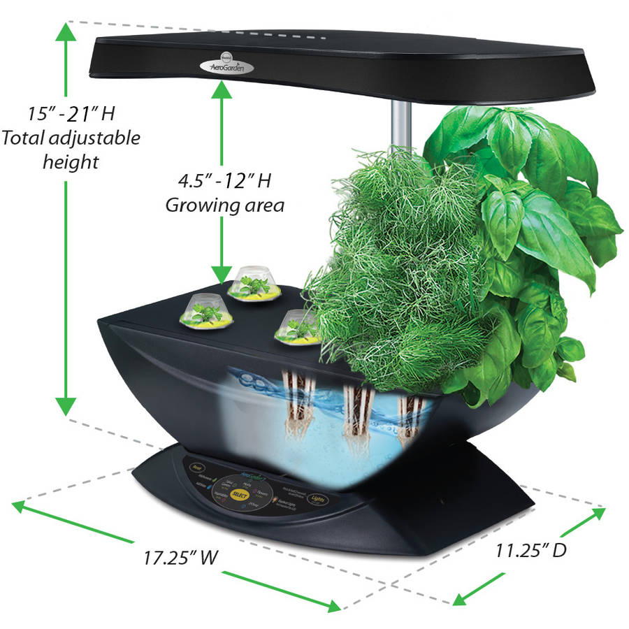 Miracle gro Aerogarden 7 Led Bundle Walmartcom