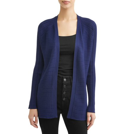 Women's Ribbed Cardigan