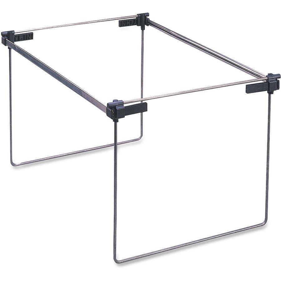 Hanging Files For Filing Cabinets Smead Heavy Duty Hanging File Folder Frame Walmartcom