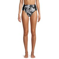 Time and Tru Women's Swimsuit Brief Bottom