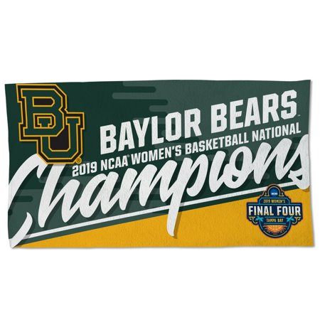Baylor Bears WinCraft 2019 NCAA Women's Basketball National Champions 22'' x 42'' 2-Sided Official Locker Room Towel - No Size