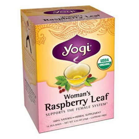 Yogi Teas - Woman's Raspberry Leaf 16 bags 420119 (Way Red Raspberry)