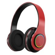 PANDAIN Noise Cancelling Headphones Bluetooth Headphones with Microphone Over-ear Deep Bass Wireless Headphones