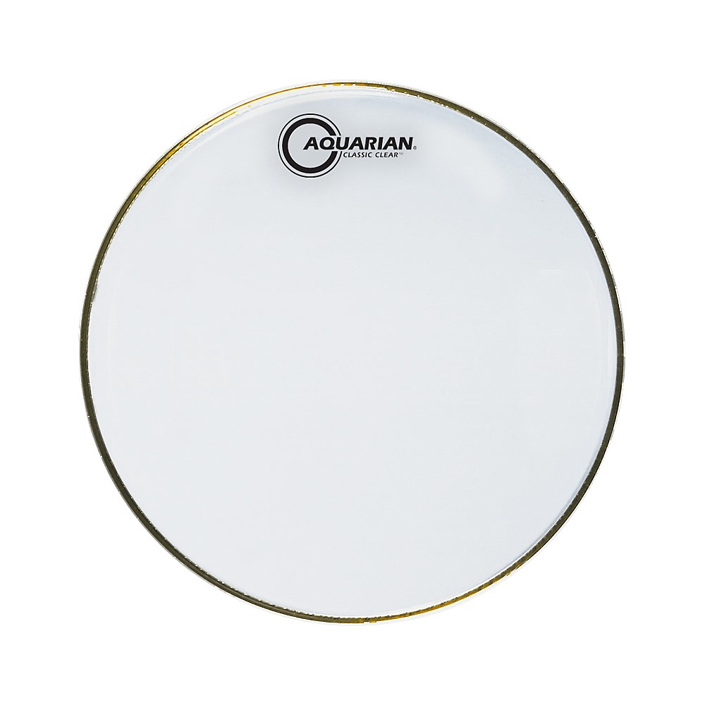 Aquarian Classic Clear Snare Bottom Drumhead 12 in. by Aquarian