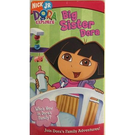 Dora the Explorer-Big Sister Dora (VHS 2005)TESTED-RARE VINTAGE-SHIPS N 24 - Dora Halloween Vhs