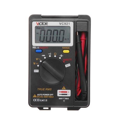 VICTOR VC921 Integrated Personal Handheld Pocket Mini Digital Multimeter Auto Range Data Hold