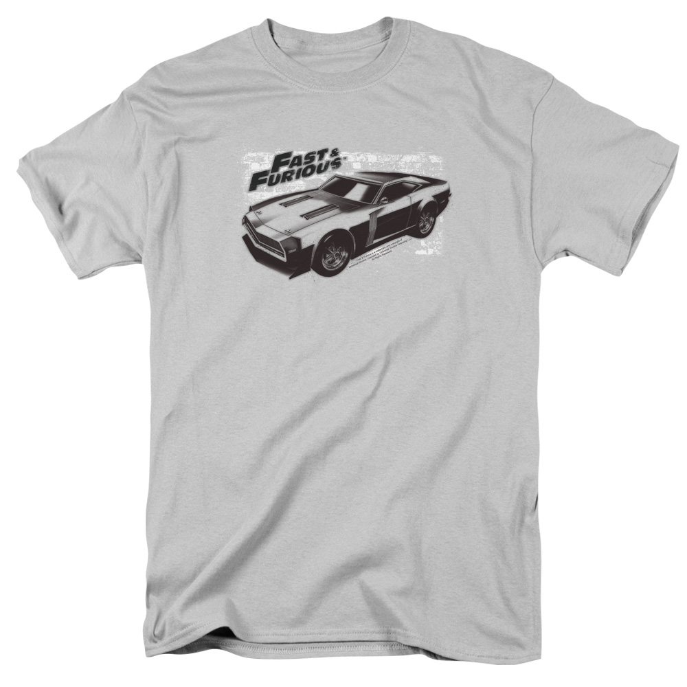 The Fast and the Furious Spray Car Mens Short Sleeve Shirt