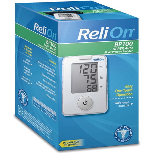 ReliOn Automatic Blood Pressure Monitor
