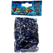 Rainbow Loom Medieval Navy Blue Rubber Bands Refill Pack [600 ct]