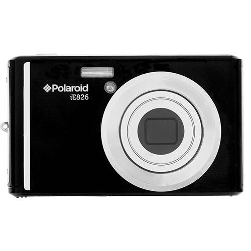 Polaroid IE826-BLACK 18.0 Megapixel Digital Camera - 8x Optical/4x Digital - 2.4-inch...