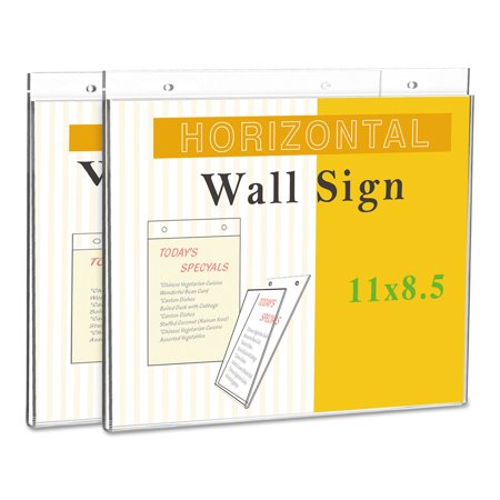 Universal Office Products UNV76883 Wall Mount Sign Holder, 11